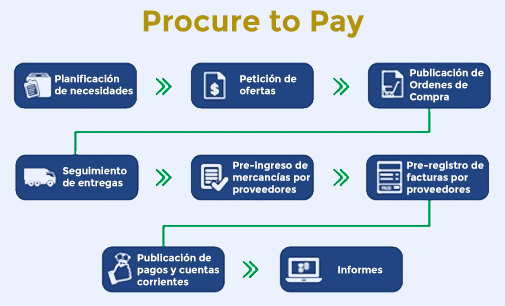 Pasos de Procure to Pay
